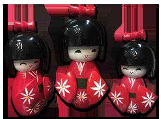 tutto giappone bambole giapponesi tradizionali kimono in vendita