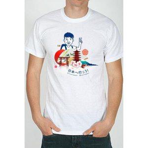 maglietta t-shirt marchino in giappone uomo tuttogiappone