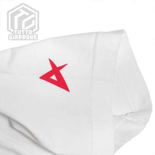 bandai gundam gunpla RX 93 t shirt bianca manica tuttogiappone