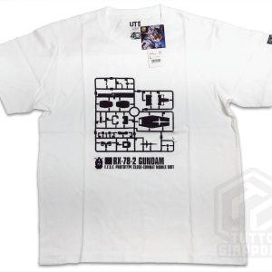 t shirt maglietta gunpla RX 78 2 Gundam fronte L tuttogiappone