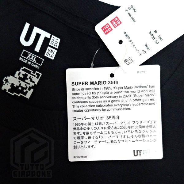 t shirt maglietta super mario 85 20 etichetta tuttogiappone